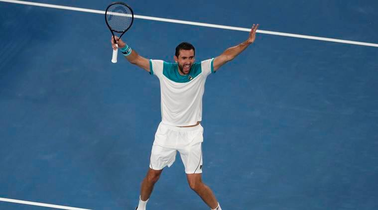 Image result for marin cilic australian open 2018