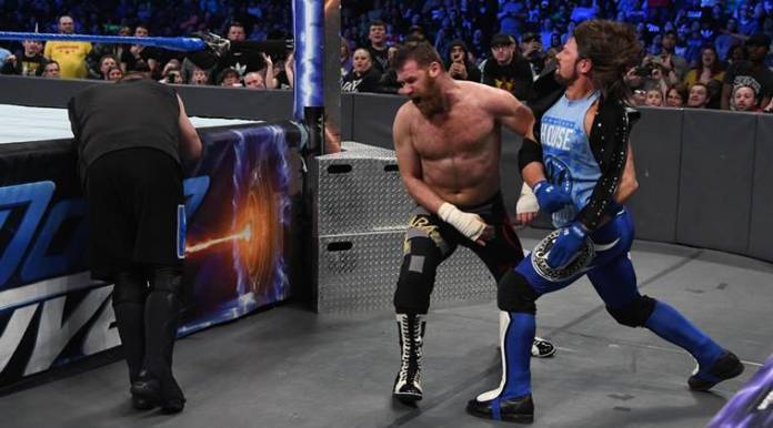 WWE Smackdown saw a fight between AJ Styles, Sami Zayn and Kevin Owens.