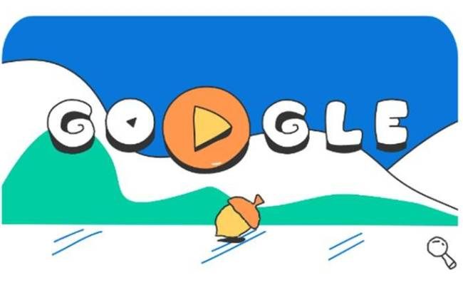 Google Doodle Celebrates Day 15 Of Winter Olympic Games