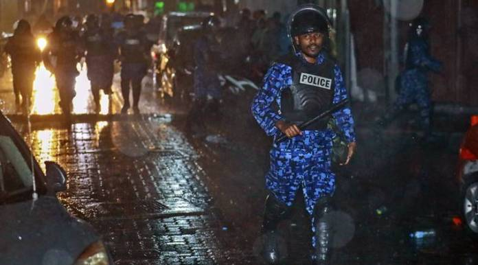 Maldives political crisis