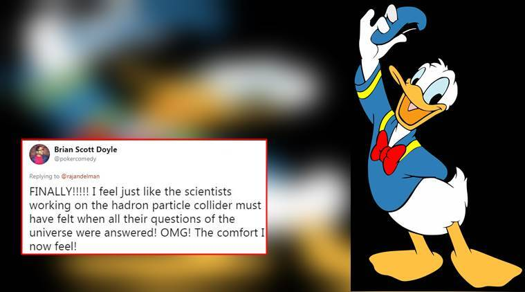donald duck, donald duck pants, why donald duck does not wear pants, twitter answer on why donald duck does not wear pants, indian express, indian express news
