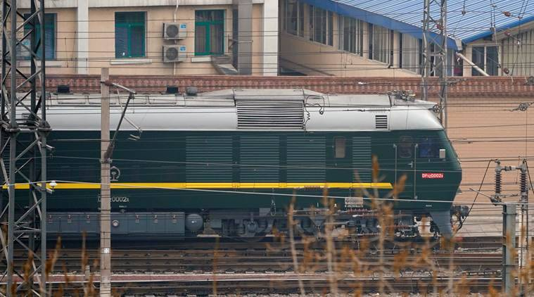 Image result for North Korea train leaves beijing, photos