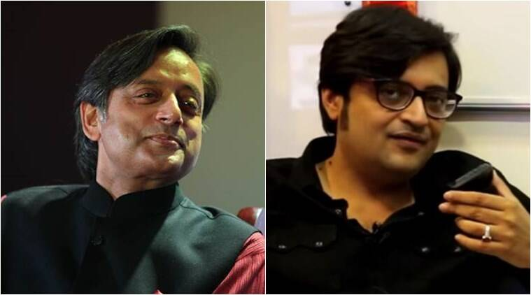 Shashi Tharoor, Arnab Goswami ready to step into witness box in defamation suit