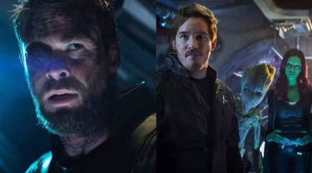 Avengers Infinity War: Thor meets the Guardians in this hilarious newclip
