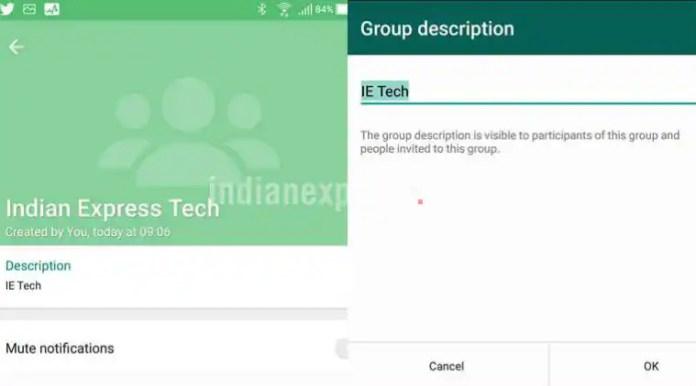WhatsApp, WhatsApp group description feature, WhatsApp group description Android, WhatsApp group description ios, how to add group description on whatsApp, WhatsApp app