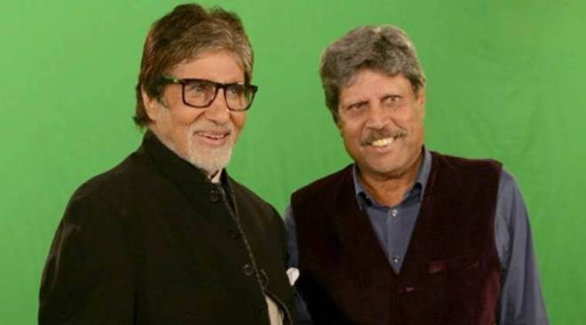 IPL 2018: Amitabh Bachchan and Kapil Dev film a special segment for the event