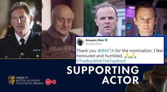 Twitterati cheer Anupam Khers BAFTA nomination for The Boy with the Top Knot