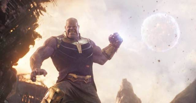 thanos in avengers infinity war played by josh brolin