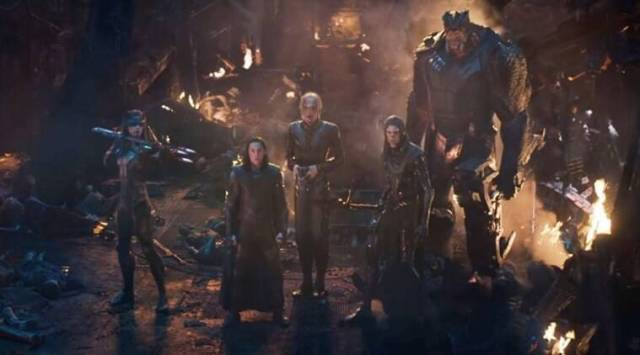 Avengers Infinity War: New clip finds the superheroes taking on the BlackOrder