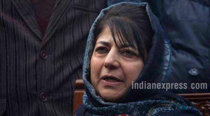 Stones and guns in hands of poor youth, need to find a middle path to end cycle of violence: Mehbooba Mufti