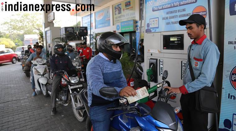 Petrol price hits four year high at Rs 73.73, diesel at highest level
