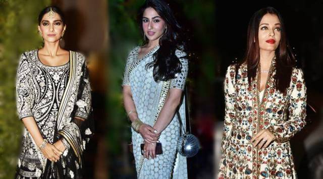 Sara Ali Khan, Sonam Kapoor and Bachchans turn heads at Saudamini Mattus wedding reception, see photos,videos