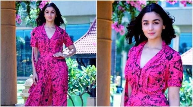 Raazi promotions: Alia Bhatt gives summer fashion goals in this quirky Burberrydress