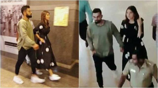 Anushka Sharma and Virat Kohli watch Avengers Infinity War