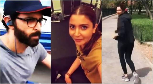 VIDEOS: Hrithik Roshan, Anushka Sharma, Deepika Padukone among Bollywood actors who took the #FitnessChallenge