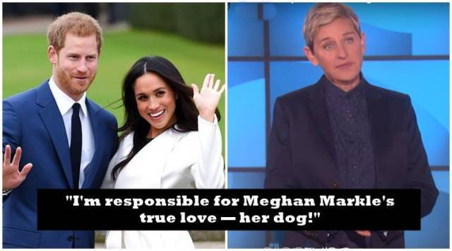 WATCH: Why Ellen DeGeneres is responsible for Meghan Markles royalwedding?