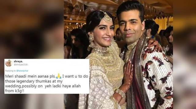 After Sonam Kapoor-Anand Ahujas wedding, Karan Johar might attend your sangeet too; find outhow
