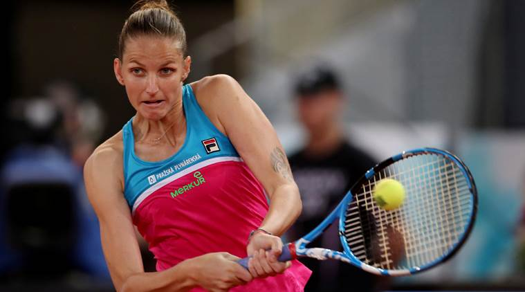Furious Karolina Pliskova bashes umpire's chair after losing in Italian Open; watch video