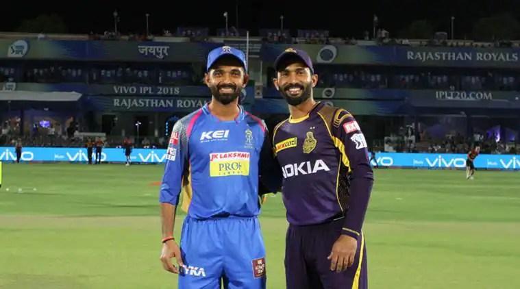 IPL 2018, KKR vs RR