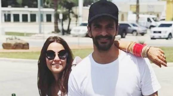 Neha Dhupia and Angad Bedi are making the most out of their work trip to the US