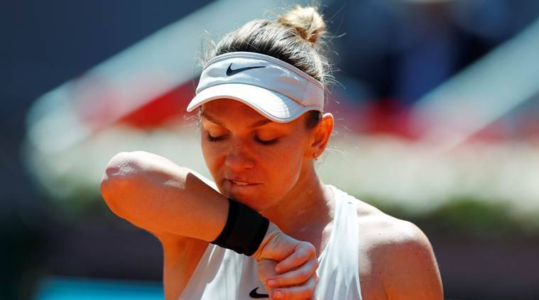 Simona Halep, Simona Halep vs Naomi Osaka, Naomi Osaka news, Italian Open, Italian Open schedule, sports news, tennis, Indian Express