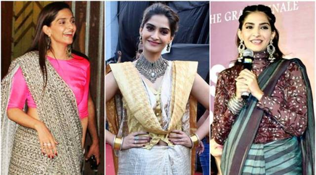5 times Sonam Kapoor quirked up her sari look with an interesting twist