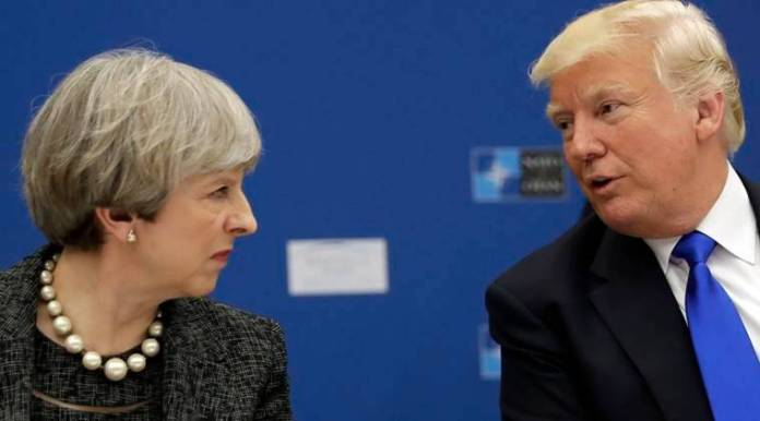 """Trump and Theresa: Six key moments in their """"special relationship"""""""
