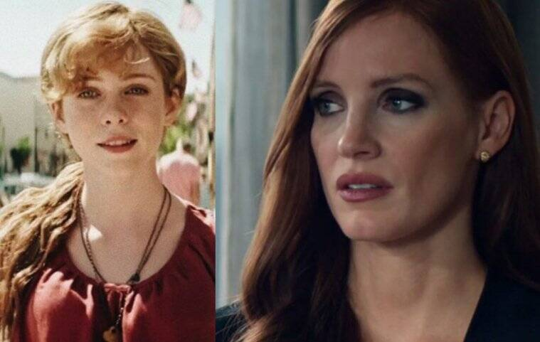 jessica chastain as beverly marsh in it chapter 2