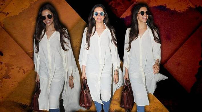Deepika Padukones airport #stylegoals: Would you try this comfy capeshirt?