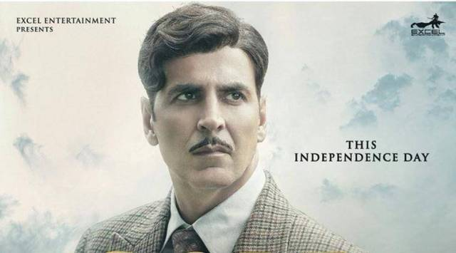 Akshay Kumar has passion in his eyes in the latest poster ofGold