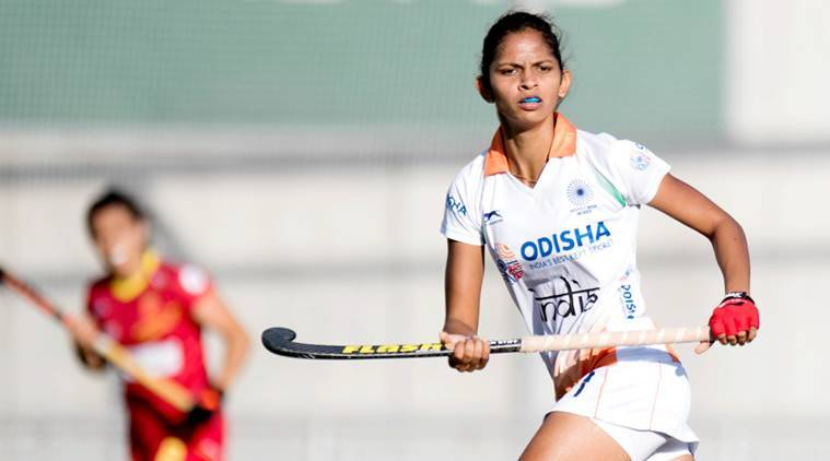 India vs Spain, Indian women's hockey team, Ind vs ESP, sports news, hockey, Indian Express