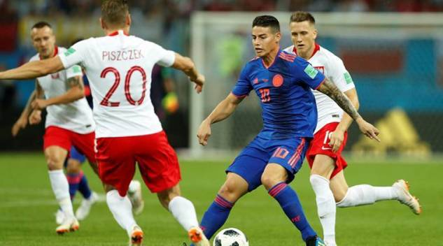 Image result for pic of colombia vs poland
