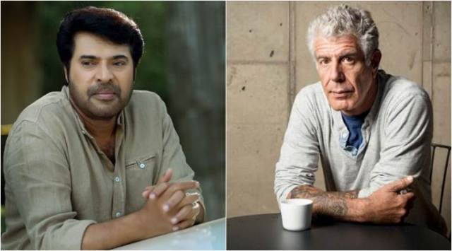 Mammootty recalls sharing a meal with Anthony Bourdain in Kerala