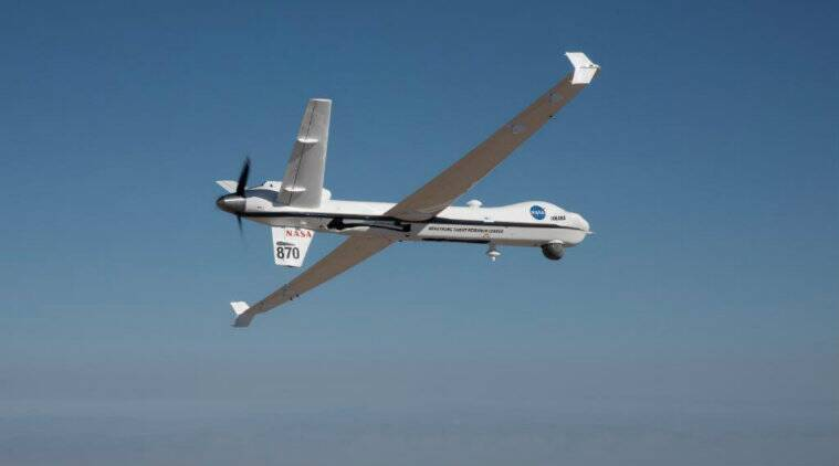 NASA's remotely-piloted Ikhana aircraft flies solo by USairspace
