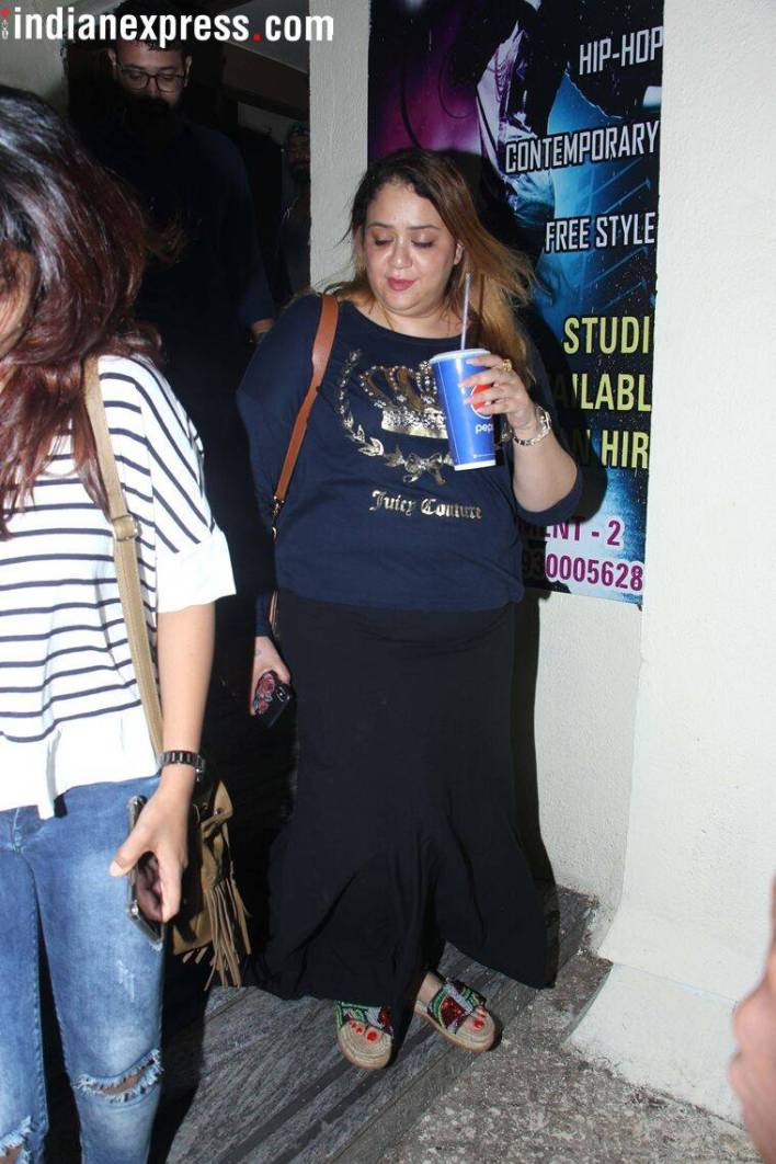 remo dsouza wife at race 3 screening