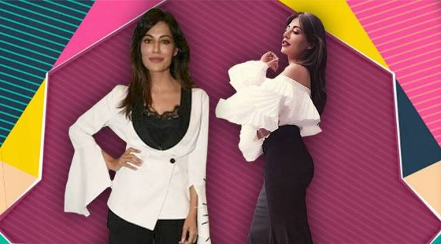 Chitrangada Singh blends black and white for two looks, but do they work for her?