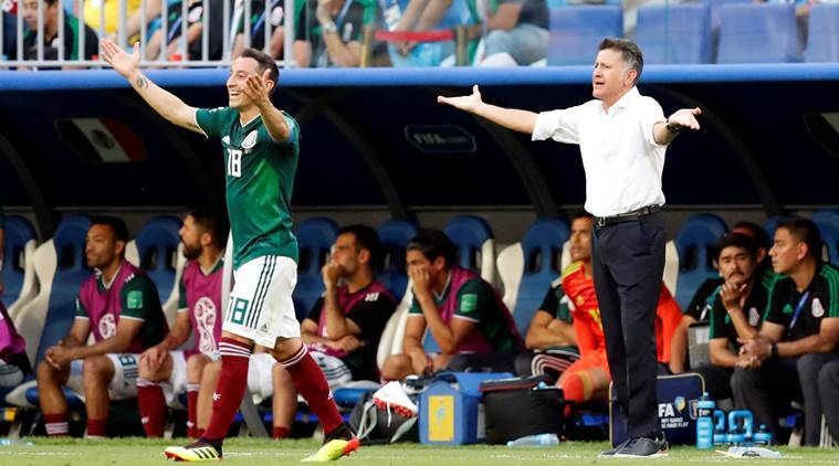 FIFA World Cup 2018: Juan Carlos Osorio blames referee for being lenient toBrazil