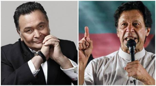Rishi Kapoor: Hope Imran Khan works for better ties between India-Pakistan