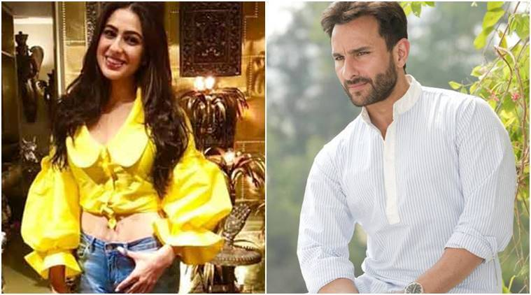 sara ali khan to share screen space with father Saif Ali Khan