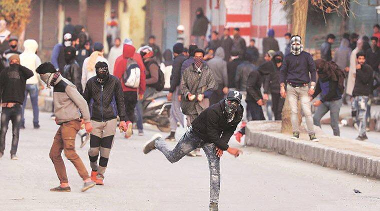 In the subsequent 80 days -- from September 15 to December 5 -- just two people were killed and 170 others received injuries during stone pelting incidents, the official said. (Express file photo)