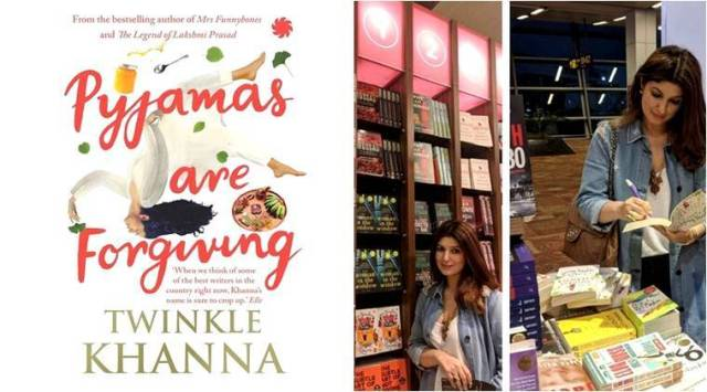Twinkle Khanna is ready with her third book and it is all about pyjama girls