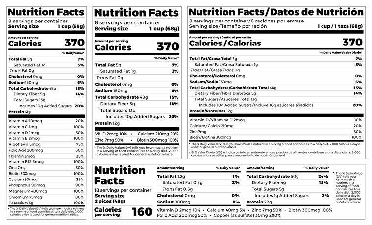 Know your food: A beginner's guide to reading a food label