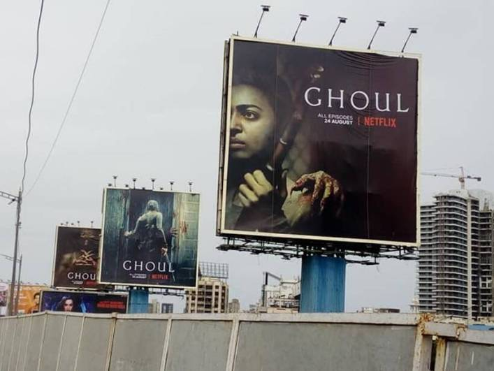 Ghoul hoardings: Our children find them scary, say some parents