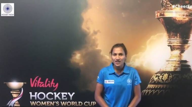 Women's Hockey World Cup: India captain Rani Rampal asks fans for support ahead of quarterfinalclash