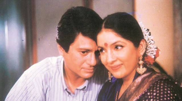 Neena Gupta with actor Kanwaljit in Saans. (Photo: Twitter/@Neenagupta001)