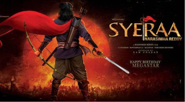 Revenue officials destroy sets of Chiranjeevis Sye Raa Narasimha Reddy