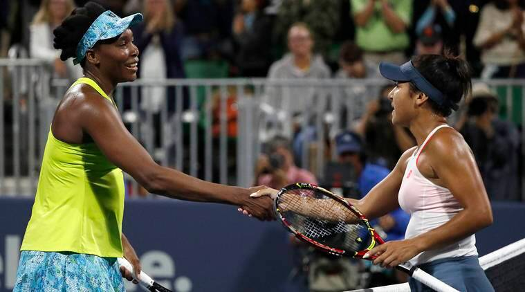 Venus Williams tops Heather Watson at Silicon ValleyClassic