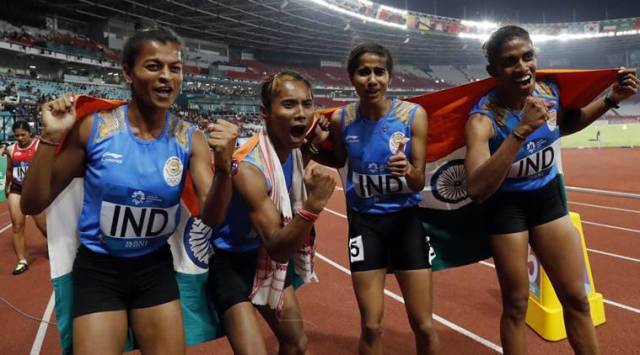 Asian Games 2018 Day 12 Live Updates Live Streaming: Gold for Women's 4x400m relay team