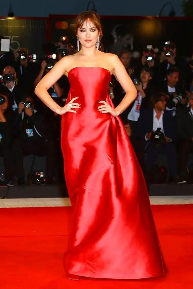 Venice Film Festival, Lady Gaga latest photos, Cate Blanchett latest photos, Dakota Johnson latest photos, Tilda Swinton latest photos, indian express, indian express news