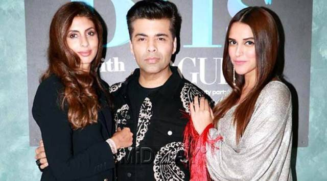 Karan Johar, Neha Dhupia and other celebrities wish Shweta Bachchan for her debut novel